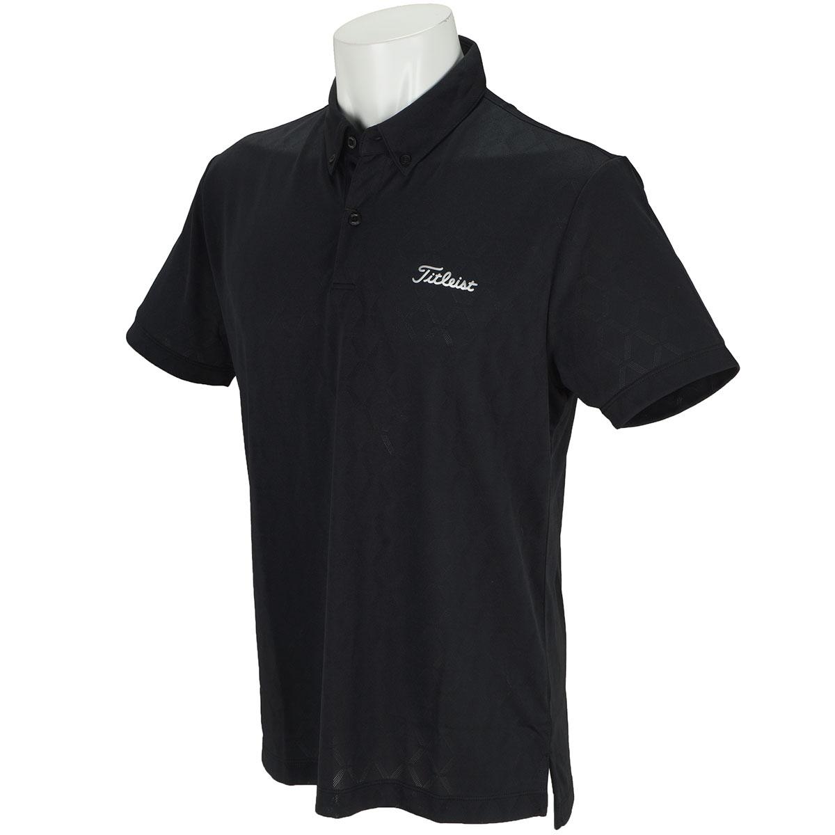 ストレッチ パフォーマンスジャカード半袖ポロシャツ
