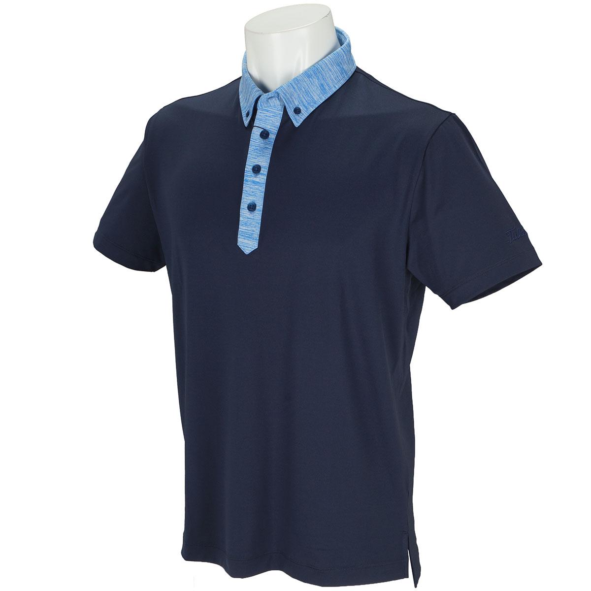 ストレッチスムース クレリック半袖ポロシャツ