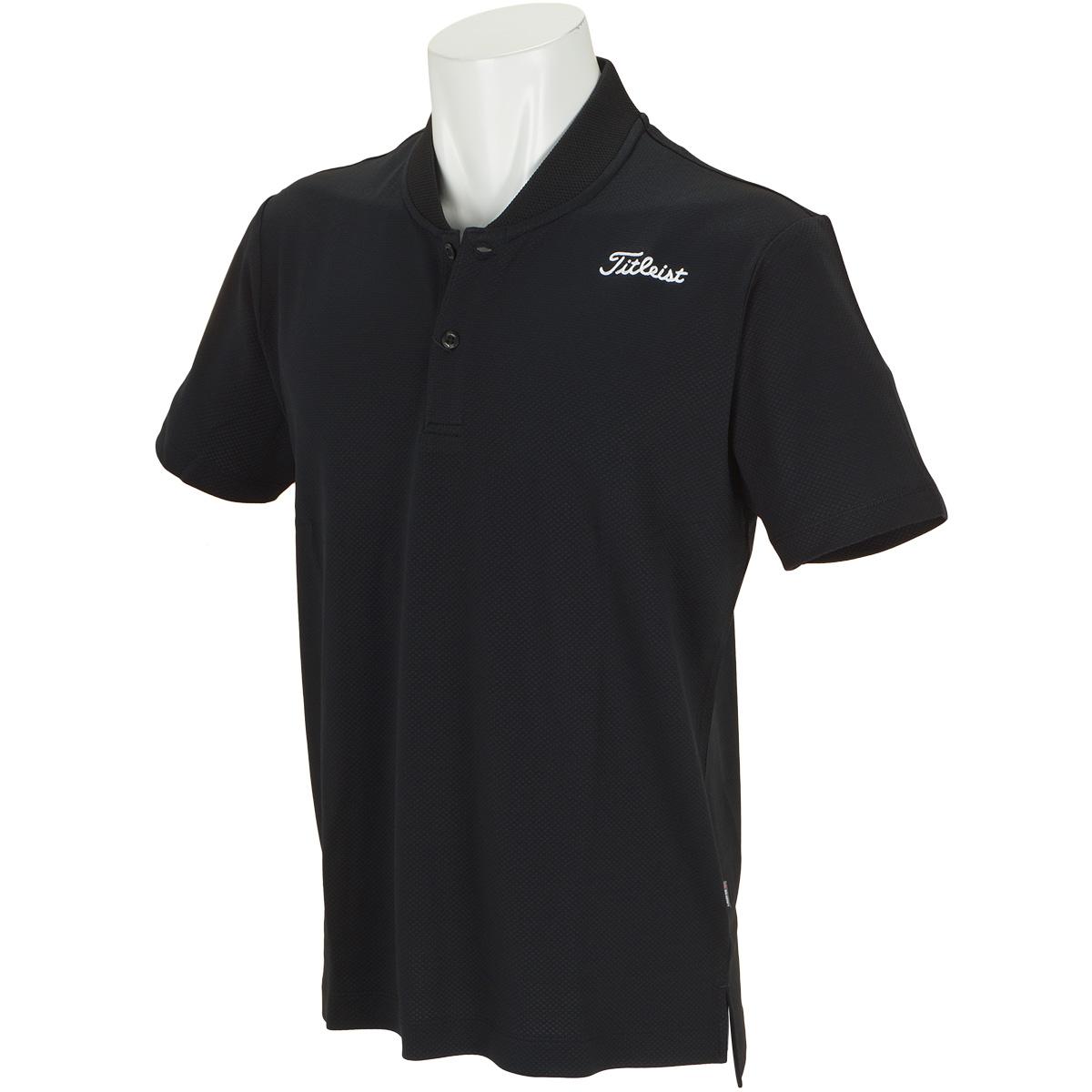 ストレッチ デルタメッシュ半袖ポロシャツ