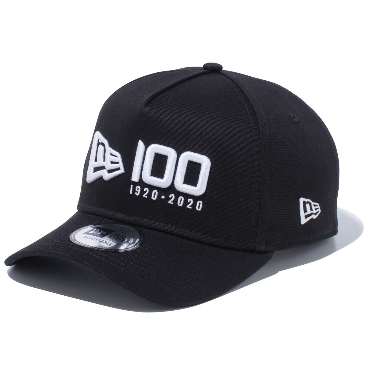 940AF NEWERA 100TH LOGO キャップ