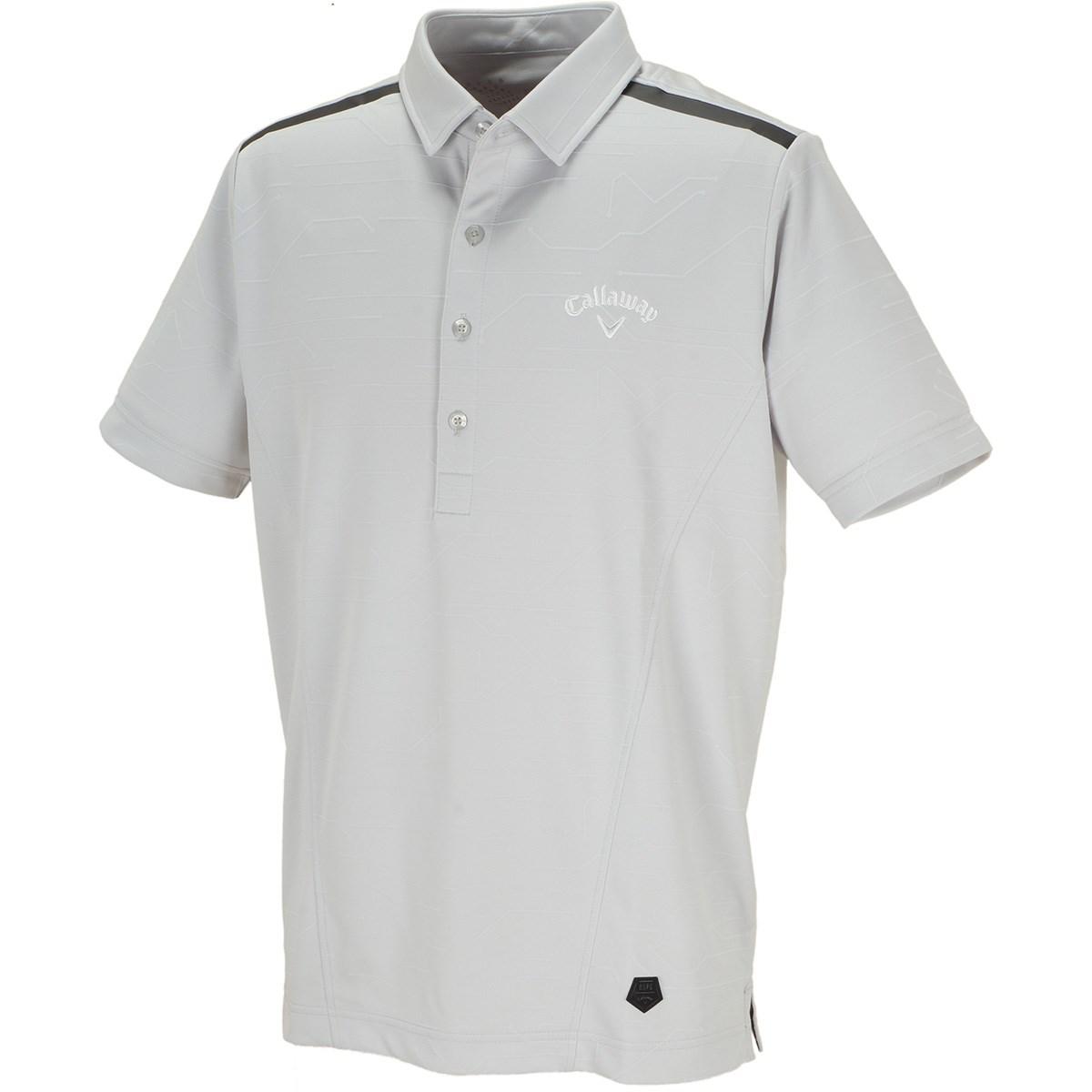キャロウェイゴルフ(Callaway Golf) AI柄 ジャカード 半袖ポロシャツ
