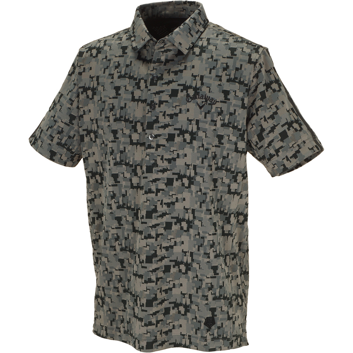 TOKYOデジカモ ジャカード 半袖ポロシャツ