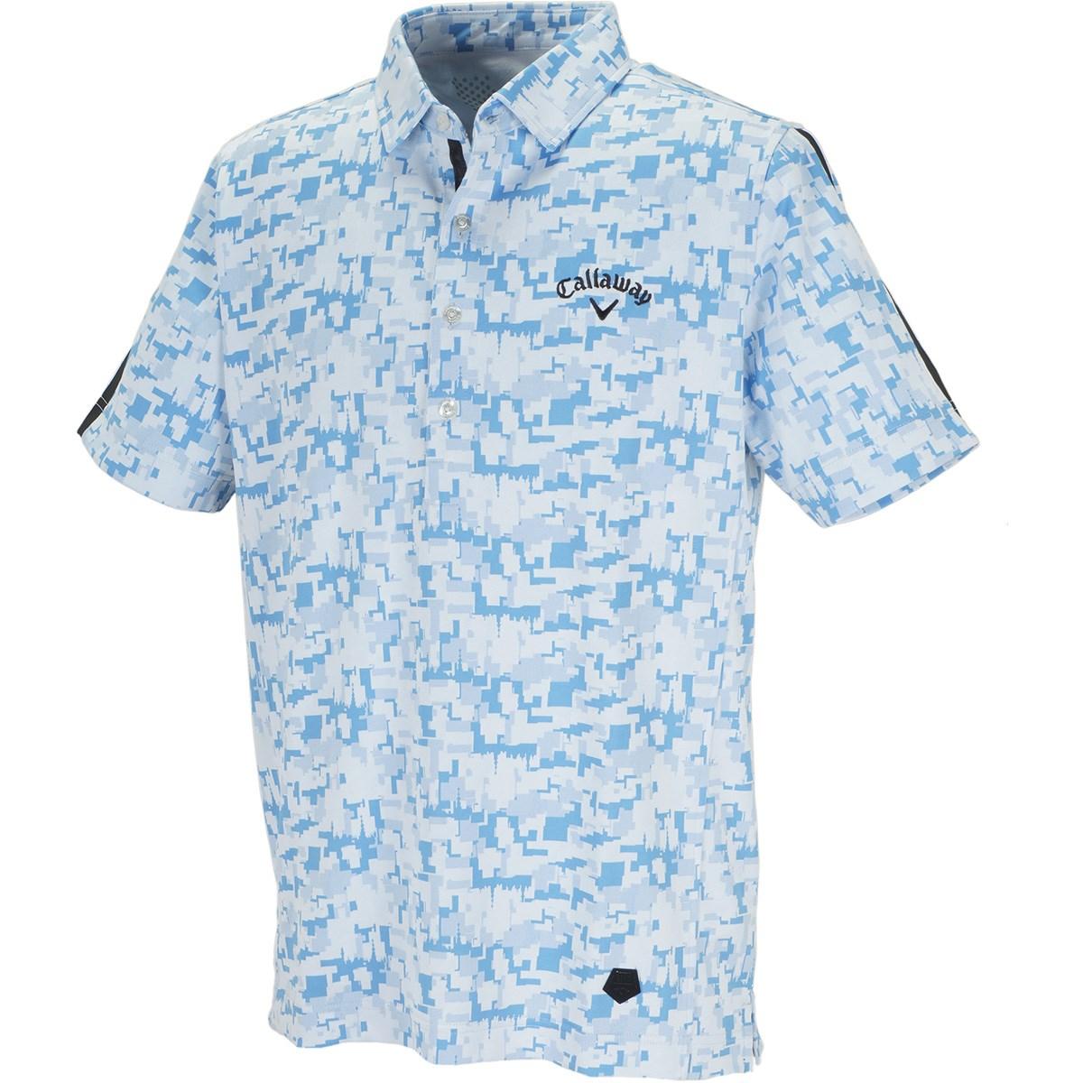 キャロウェイゴルフ(Callaway Golf) TOKYOデジカモ ジャカード 半袖ポロシャツ