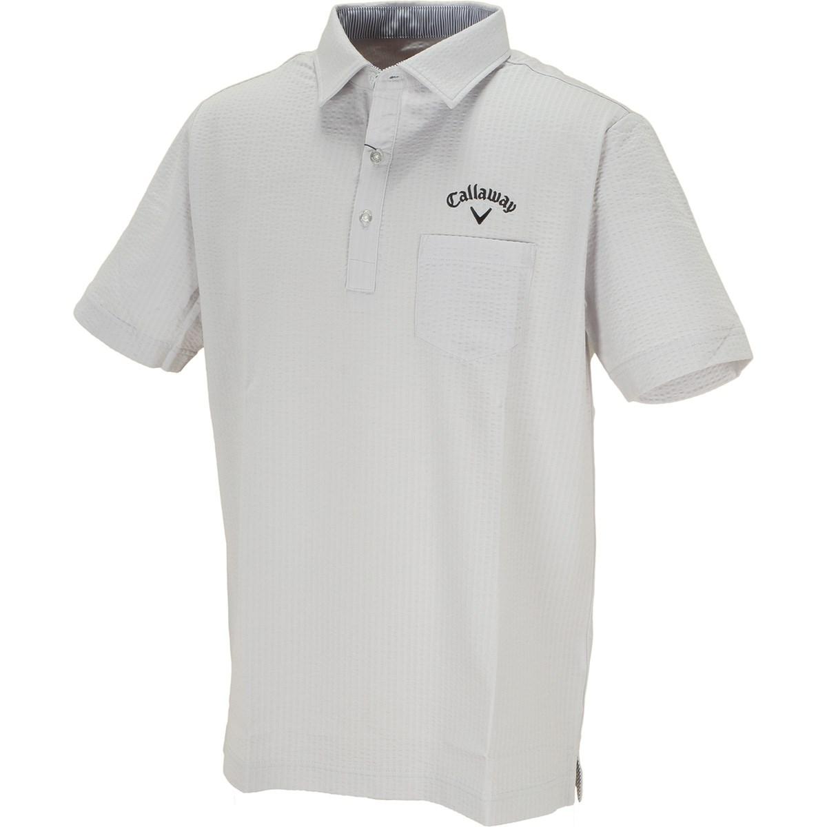 キャロウェイゴルフ(Callaway Golf) サッカーストライプ 半袖ポロシャツ