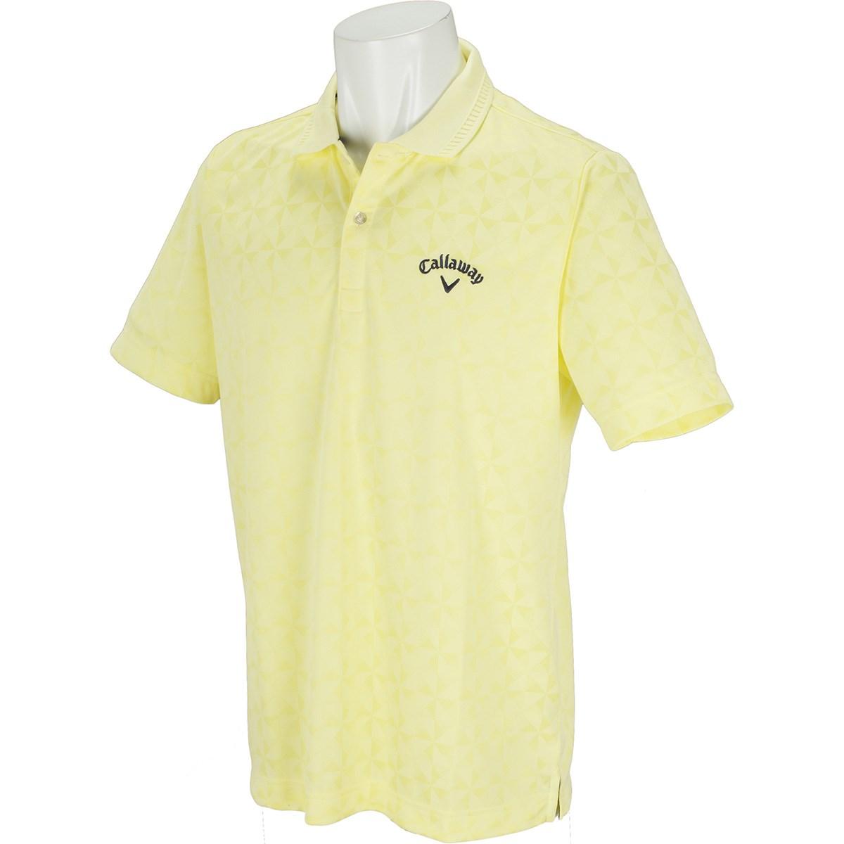 キャロウェイゴルフ(Callaway Golf) 折り紙 ジャカード 半袖ポロシャツ