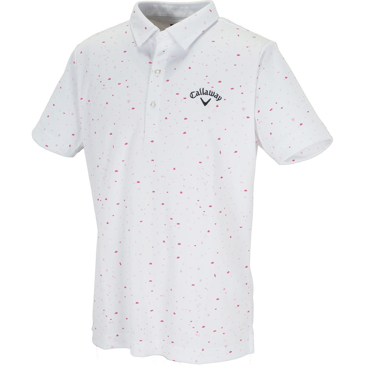 肌ドライ200cc桜風吹 半袖ポロシャツ