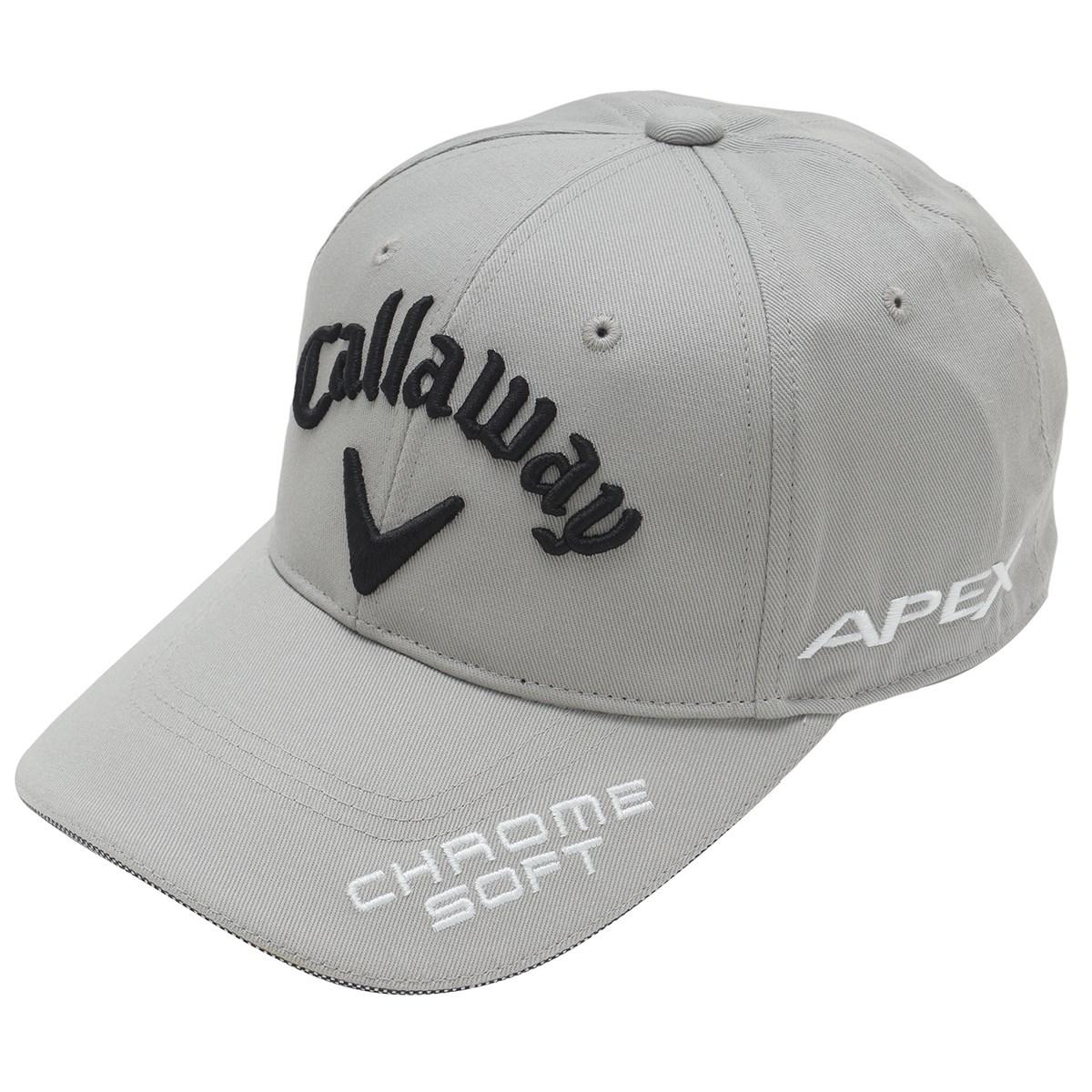 キャロウェイゴルフ Callaway Golf ツアーキャップ JM フリー グレー 020
