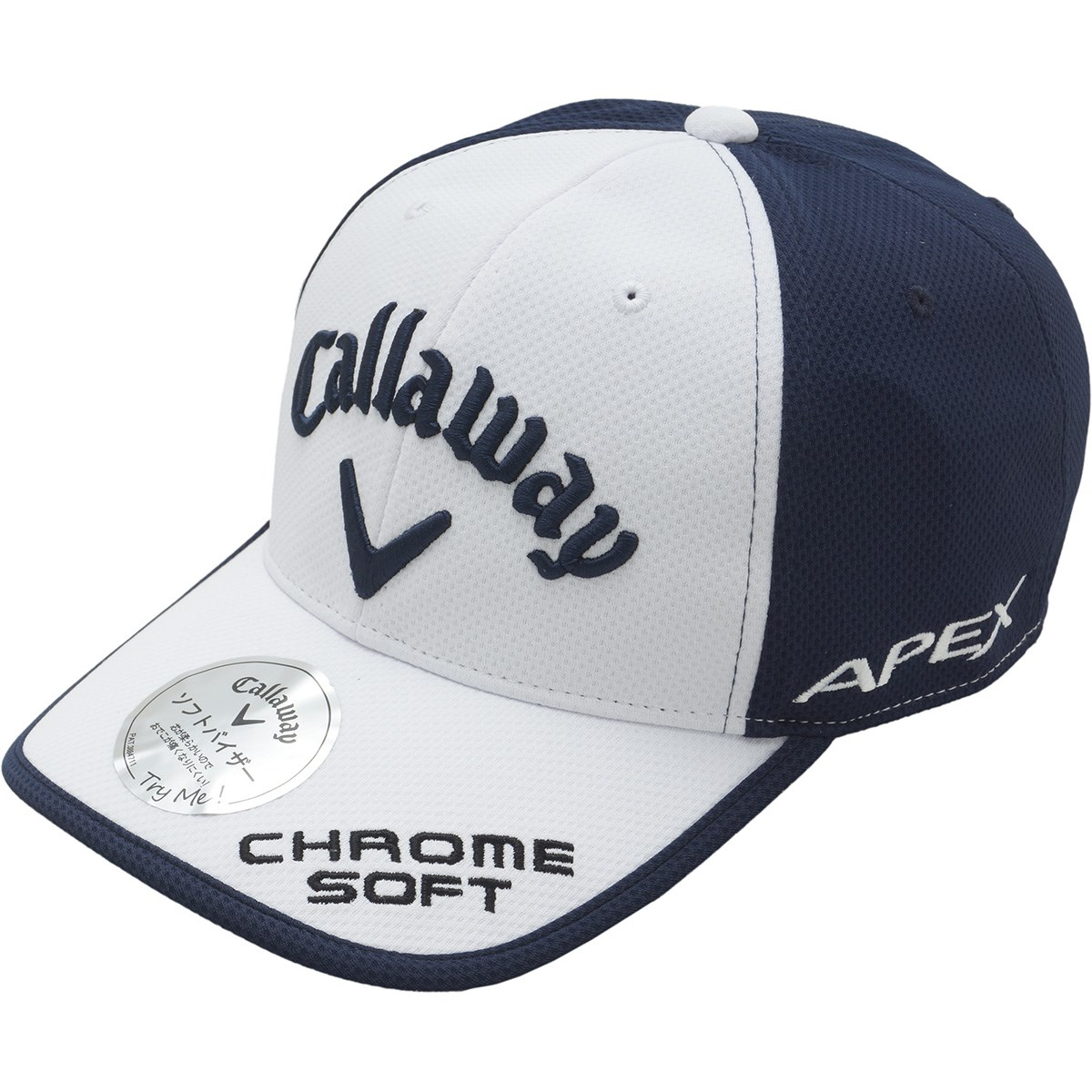 キャロウェイゴルフ Callaway Golf UVツアーキャップ JM フリー ホワイト/ネイビー 031