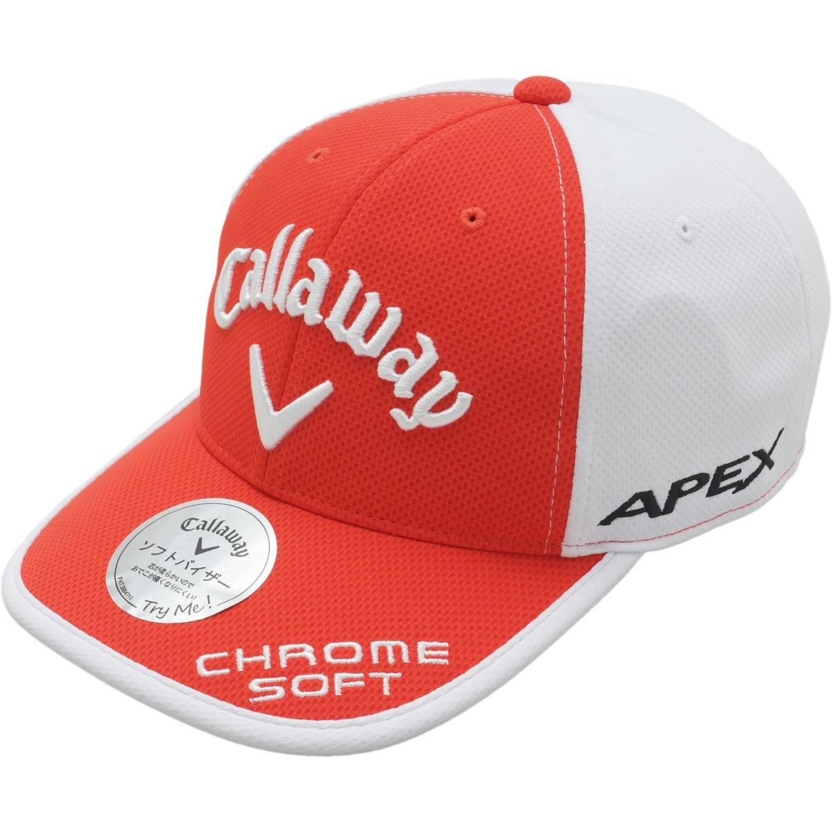 キャロウェイゴルフ Callaway Golf UVツアーキャップ JM フリー レッド 100
