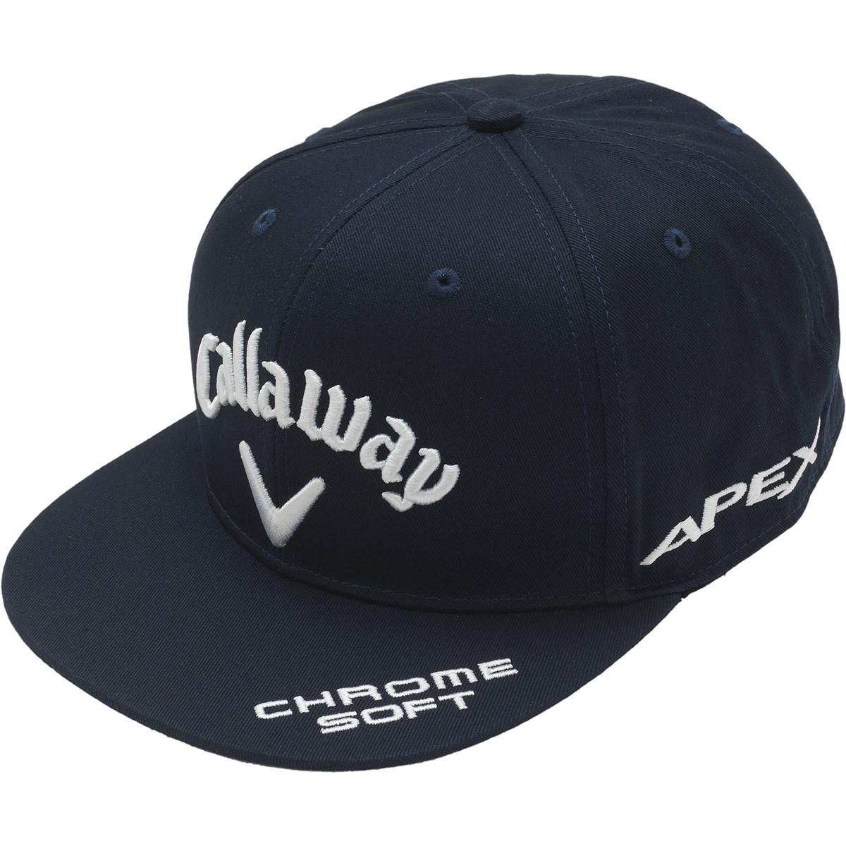 [2020年モデル] キャロウェイゴルフ Callaway Golf ツアーフラットキャップ JM ネイビー 120 メンズ ゴルフウェア 帽子