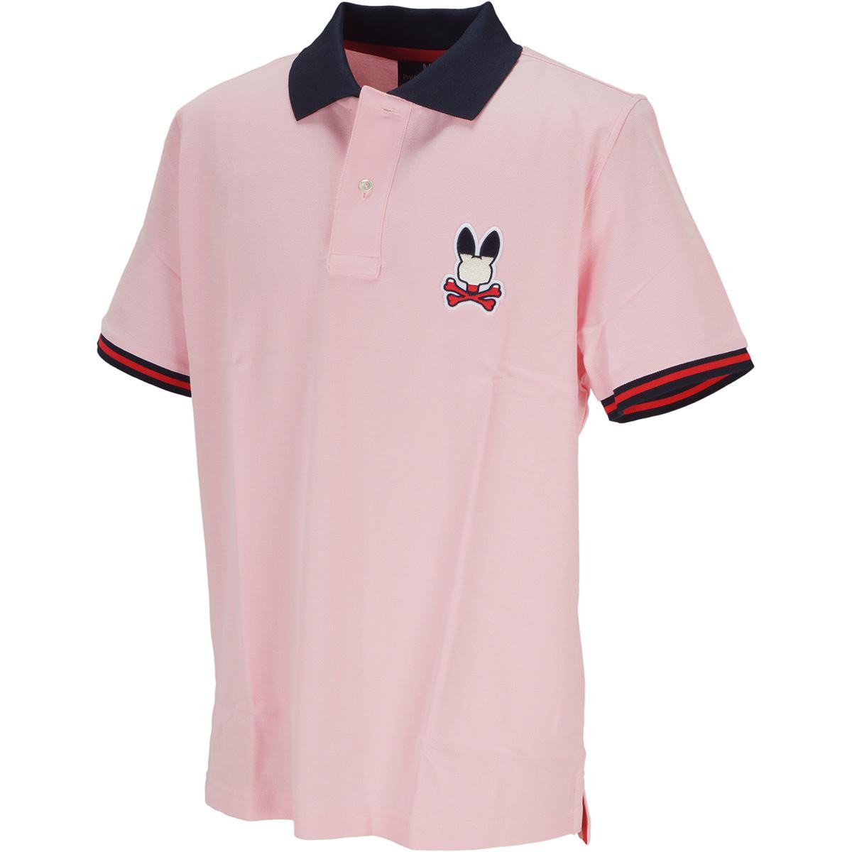 トリコロールロゴ 半袖ポロシャツ