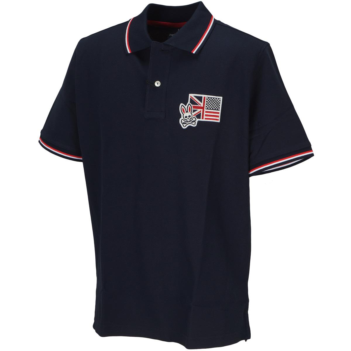 アングロフラッグ 半袖ポロシャツ
