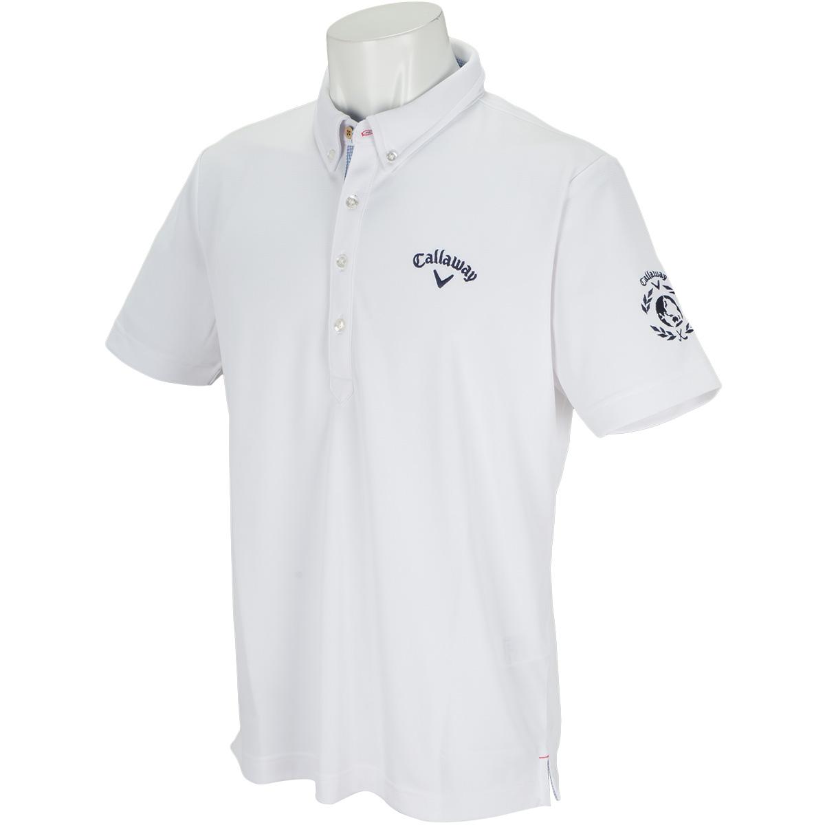 ボタンダウン -2℃+200cc カラー半袖ポロシャツ