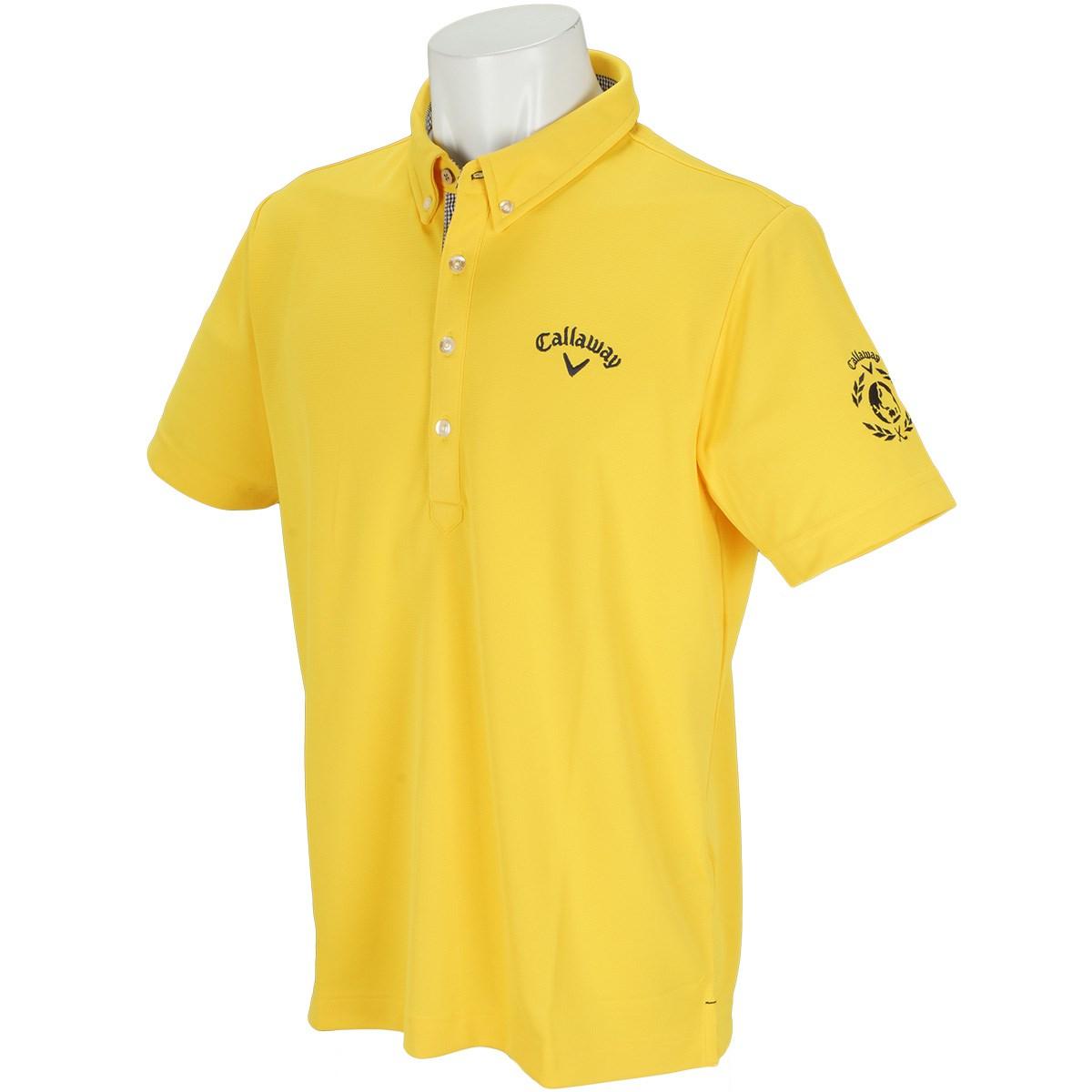 キャロウェイゴルフ(Callaway Golf) ボタンダウン -2℃+200cc カラー半袖ポロシャツ