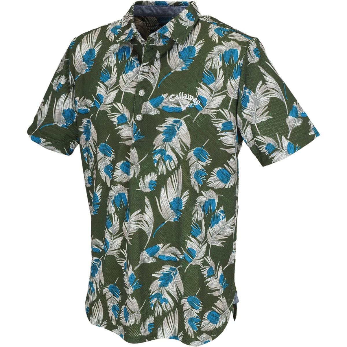 キャロウェイゴルフ(Callaway Golf) ボタニカル +200ccWIND カラー半袖ポロシャツ