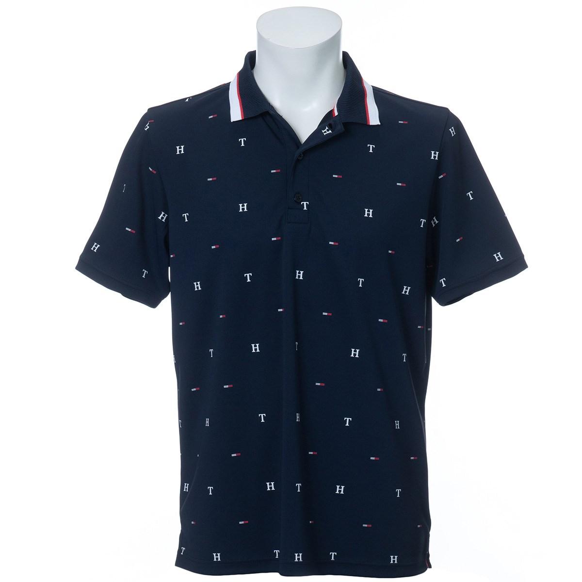 トミーヒルフィガー(Tommy Hilfiger) TH&FLAG モノグラム 半袖ポロシャツ