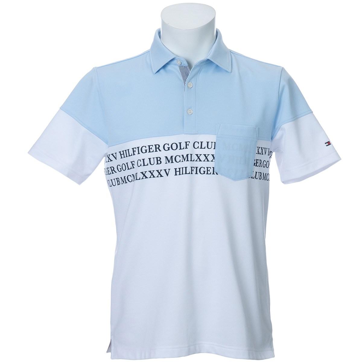 トミーヒルフィガー(Tommy Hilfiger) POCKET シャンブレー 半袖ポロシャツ