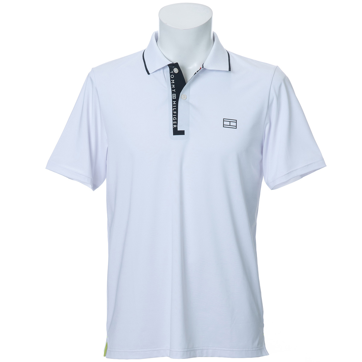 LOWER FLY ロゴ 半袖ポロシャツ