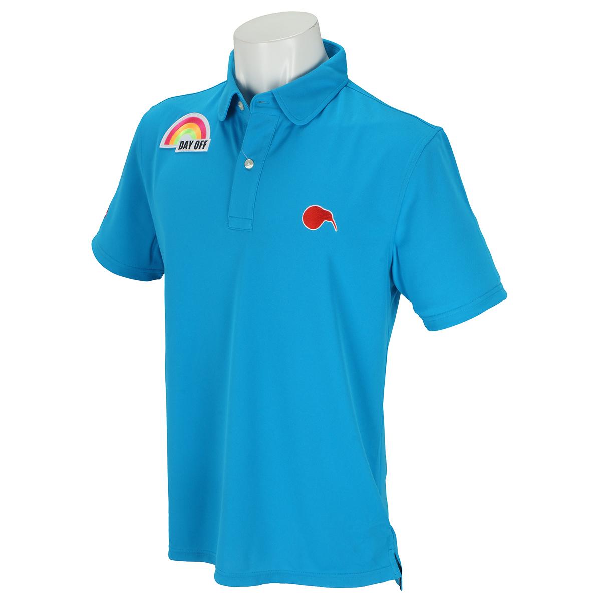 ラウンドカラー 半袖ポロシャツ6
