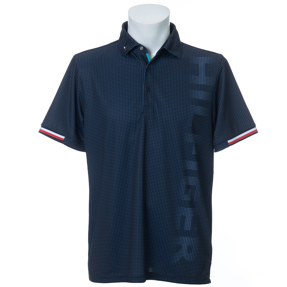 GRADATION ロゴ 半袖ポロシャツ