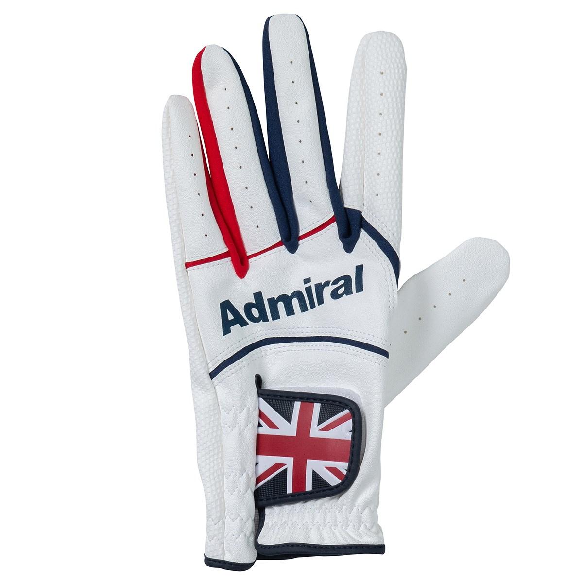 アドミラル Admiral グローブ S 左手着用(右利き用) ホワイト 00