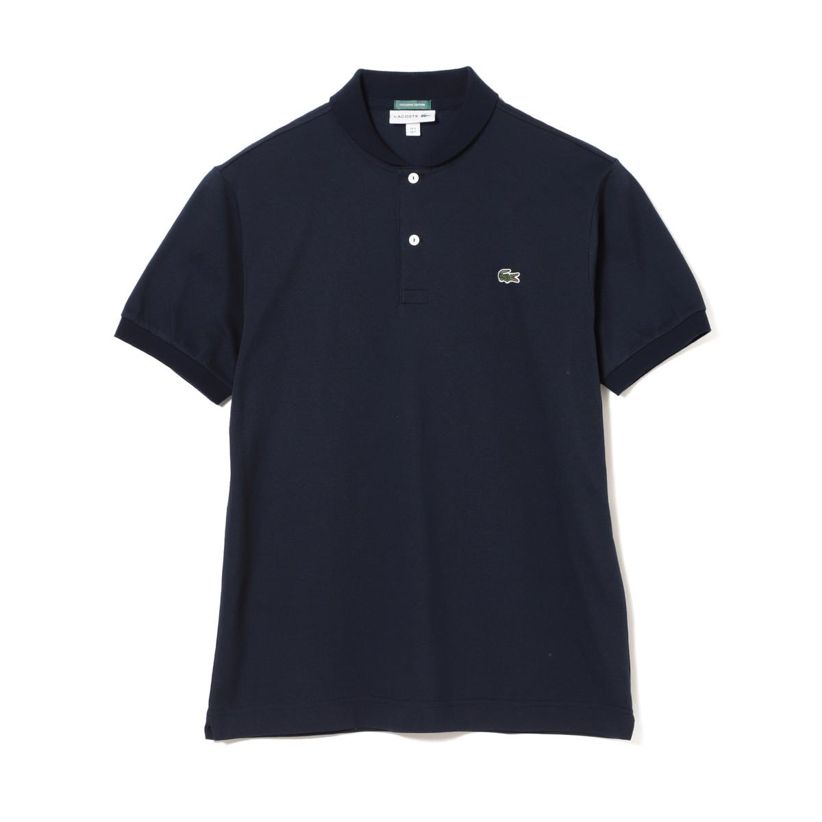 LACOSTE×BEAMS GOLF 別注 ショールカラー ポロシャツ