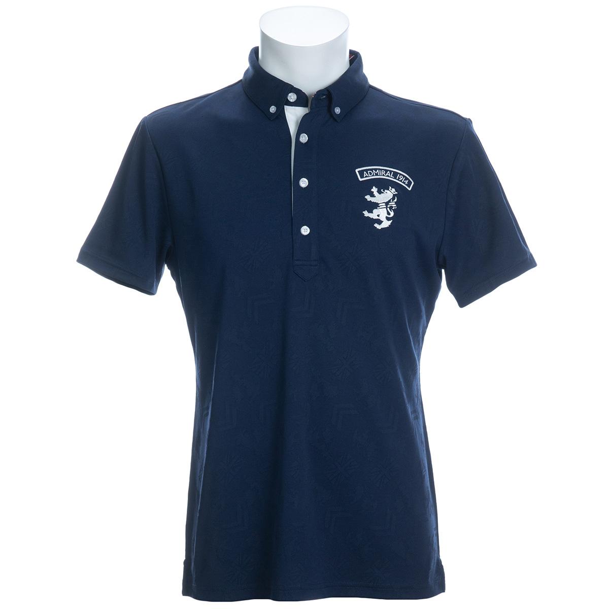 ブリッツジャカード 半袖ボタンダウンポロシャツ
