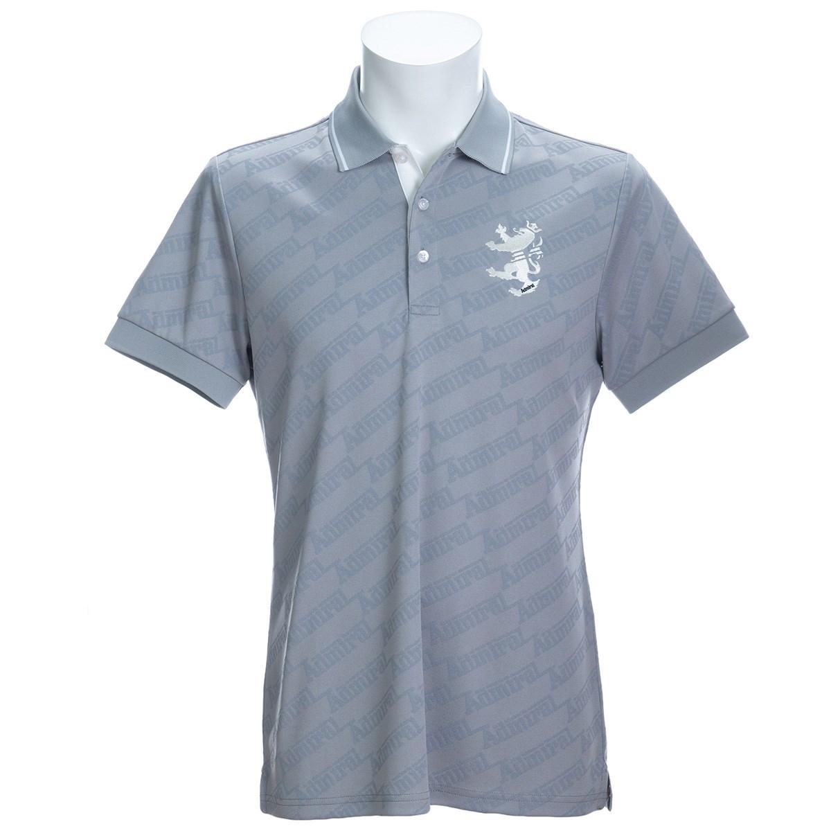 アドミラル ランブレッタジャカード 半袖ポロシャツ