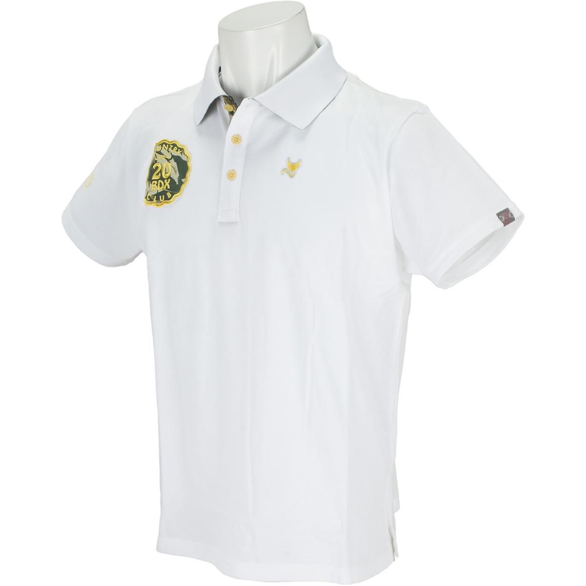 サファリワッペン 半袖ポロシャツ