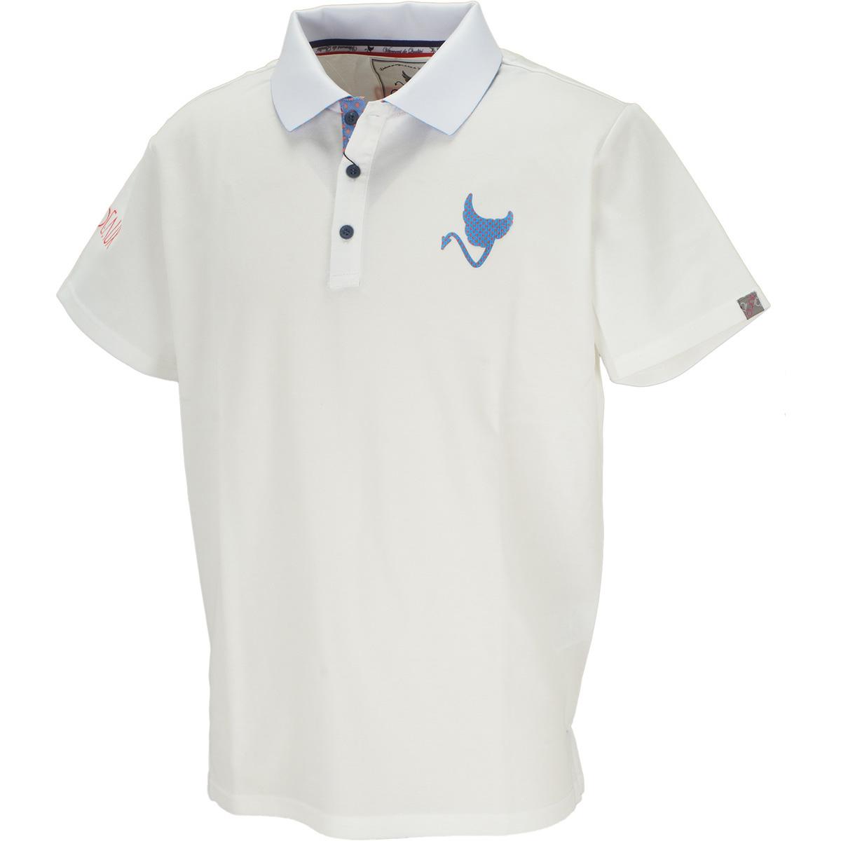 ビッグロゴ 半袖ポロシャツ