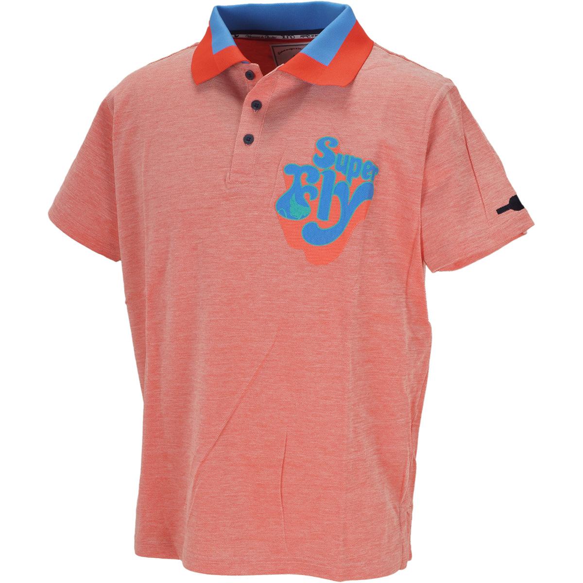 スーパーフライ 半袖ポロシャツ