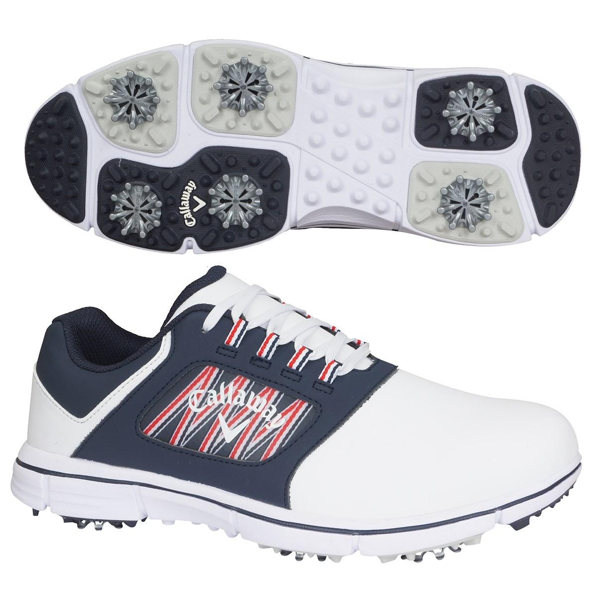 キャロウェイゴルフ Callaway Golf CHEVLITE 20 ゴルフシューズ 26cm ホワイト/ネイビー 031