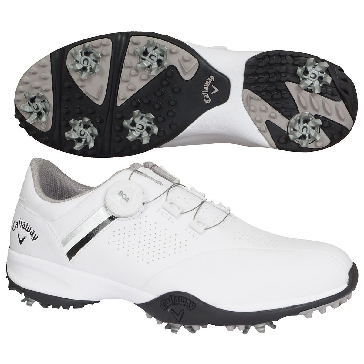キャロウェイゴルフ Callaway Golf AEROSPORT BOA 20 ゴルフシューズ 25.5cm ホワイト/ブラック 032