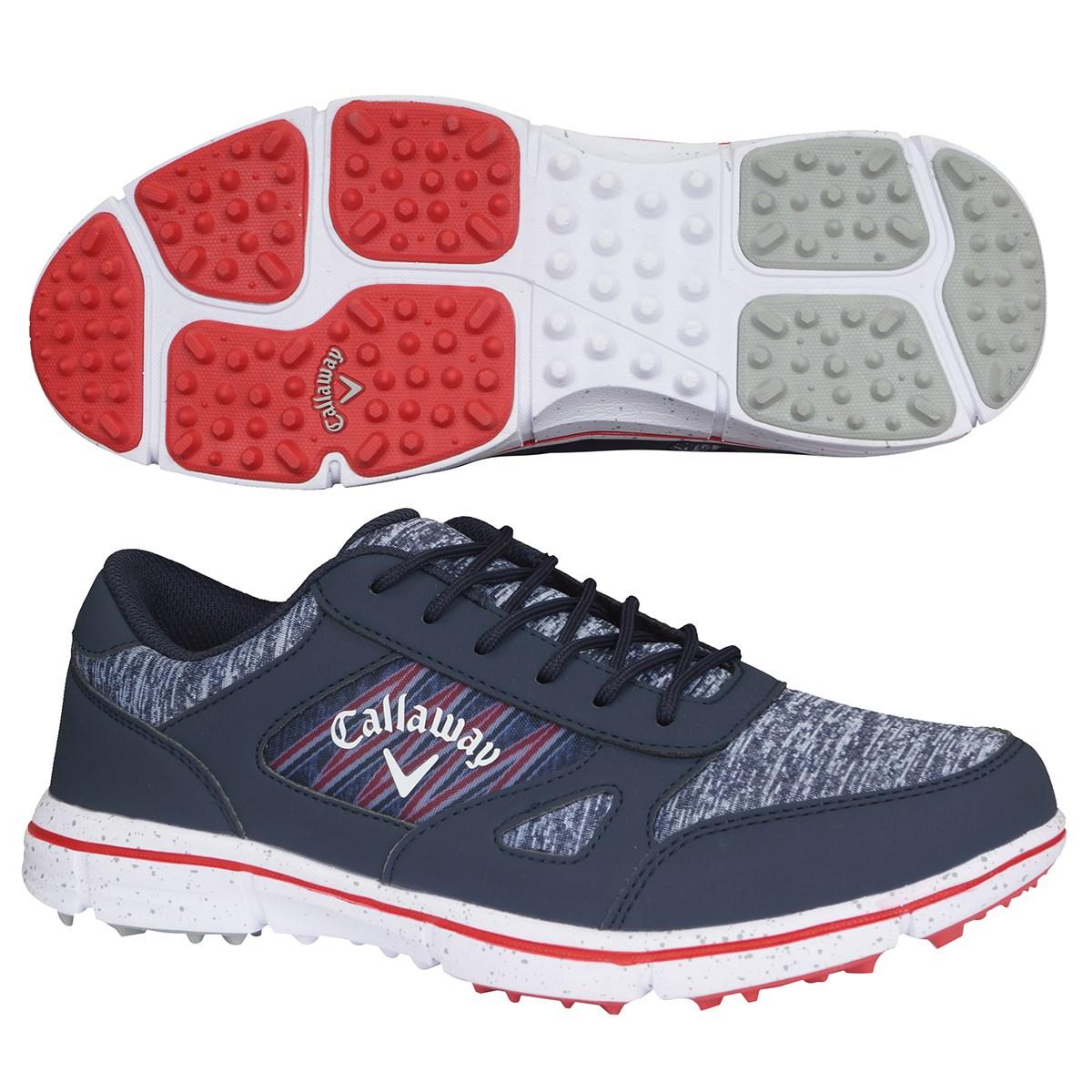 キャロウェイゴルフ Callaway Golf SOLAIRE 20 ゴルフシューズ 26.5cm ネイビー 120
