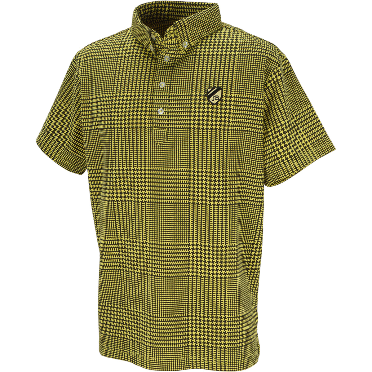 ベア天半袖ポロシャツ
