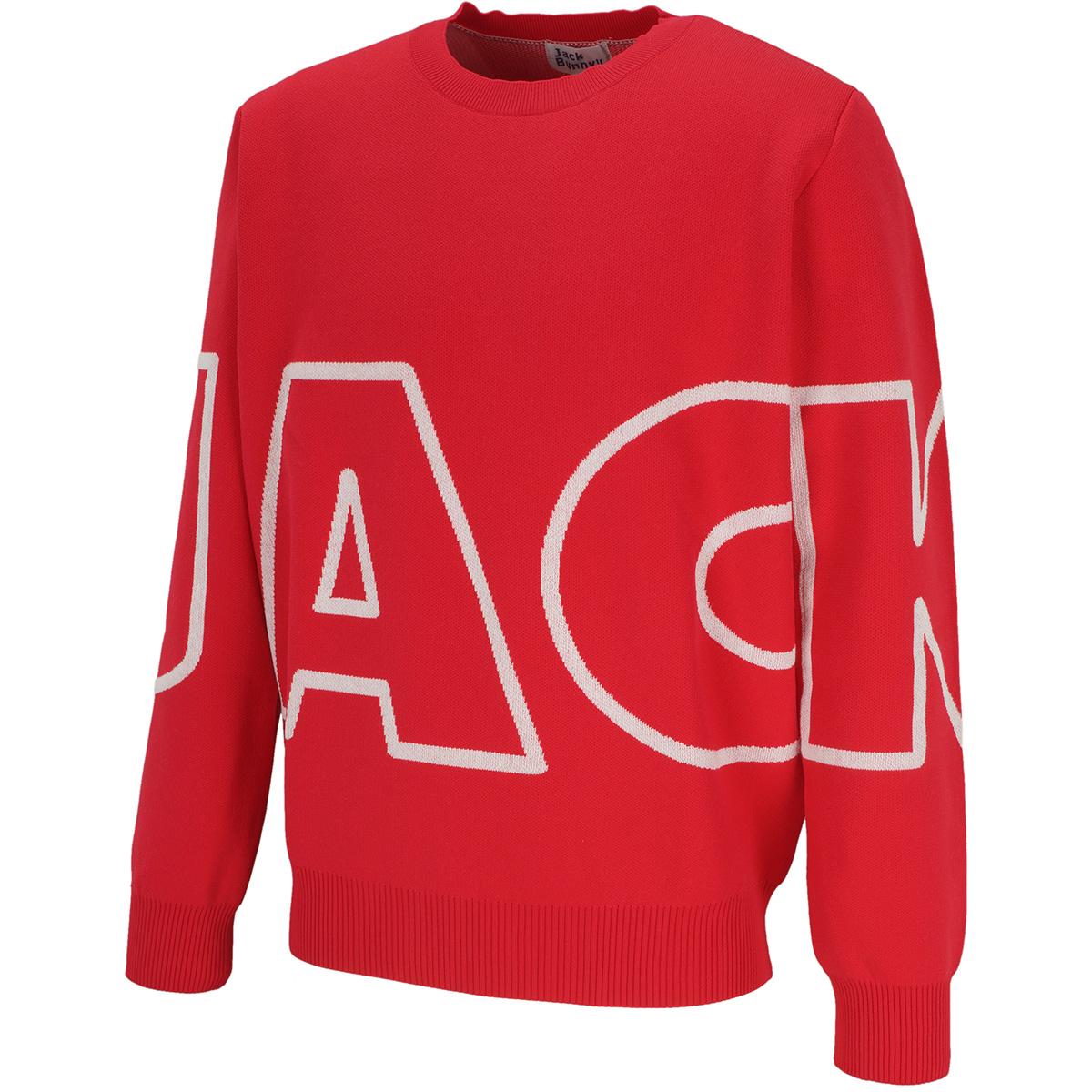2PLY Wジャカードセーター