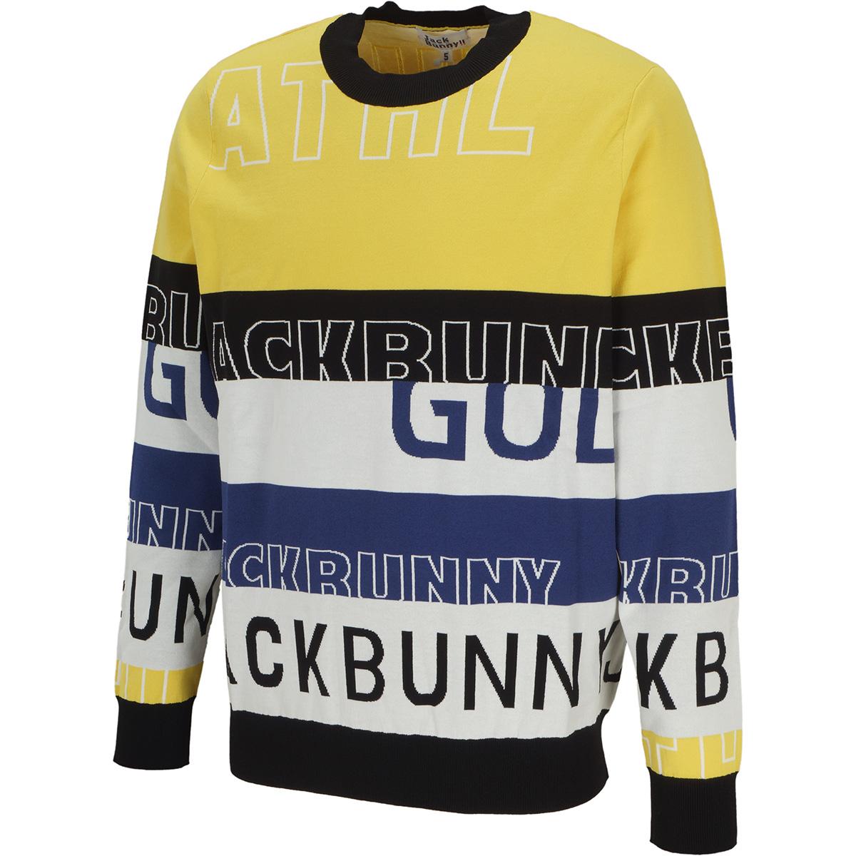袋ジャカードセーター