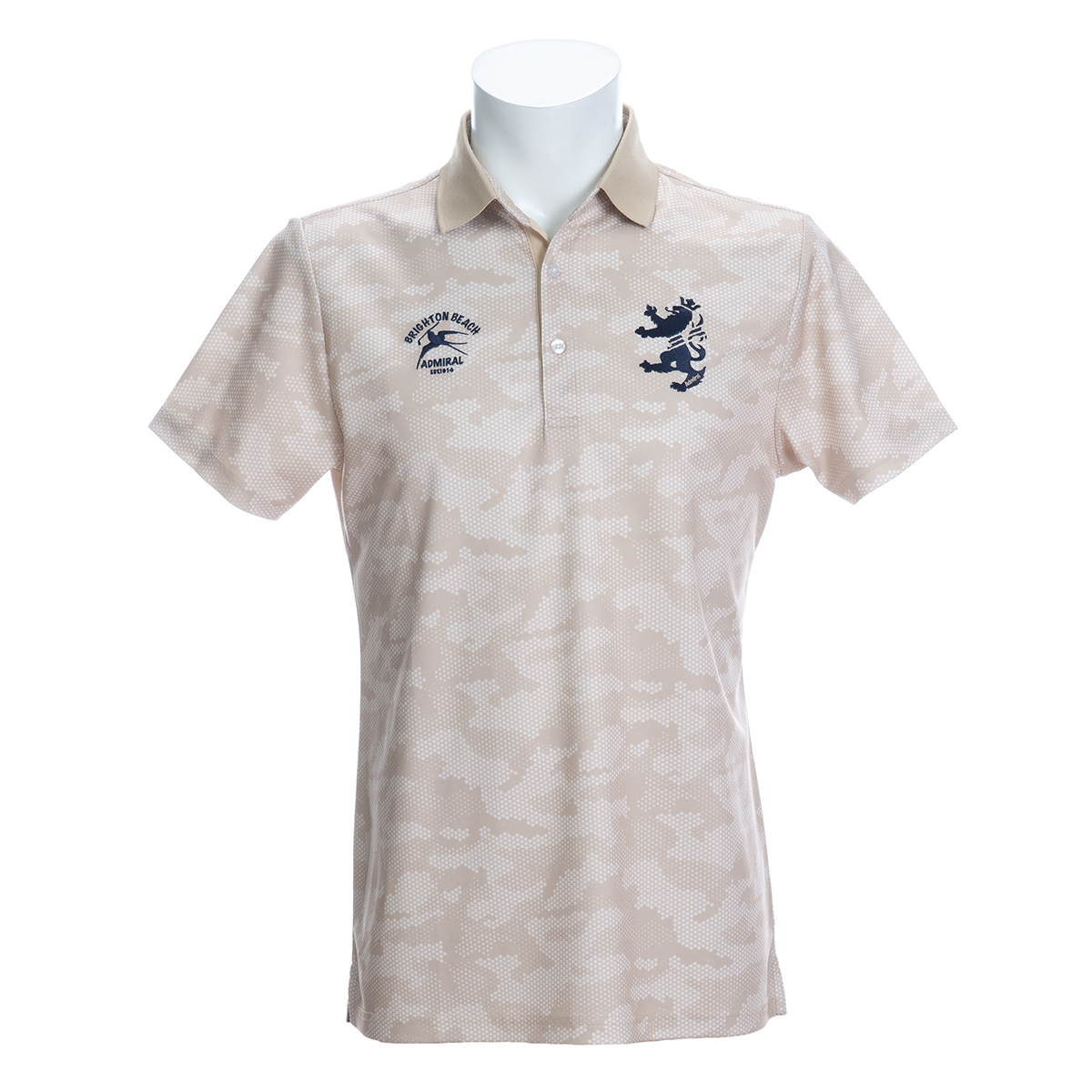 ドットカモ 半袖ポロシャツ