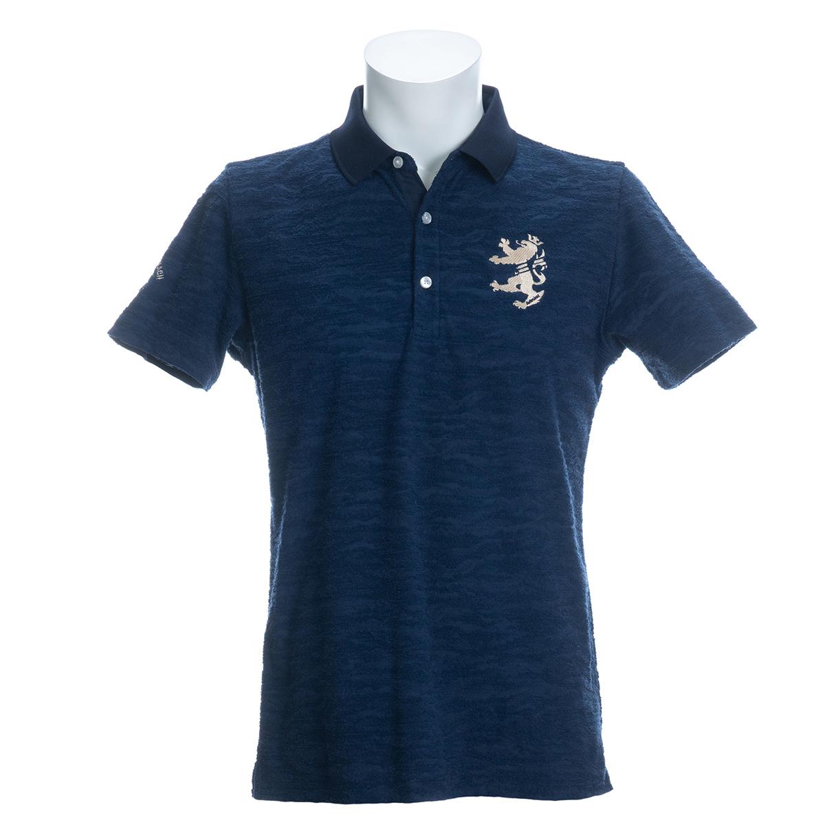 カモパイル 半袖ポロシャツ
