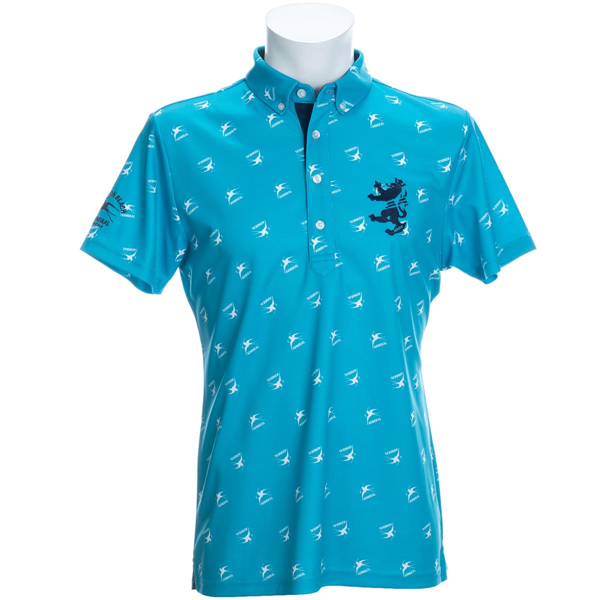 ブライトンバード ボタンダウン半袖ポロシャツ
