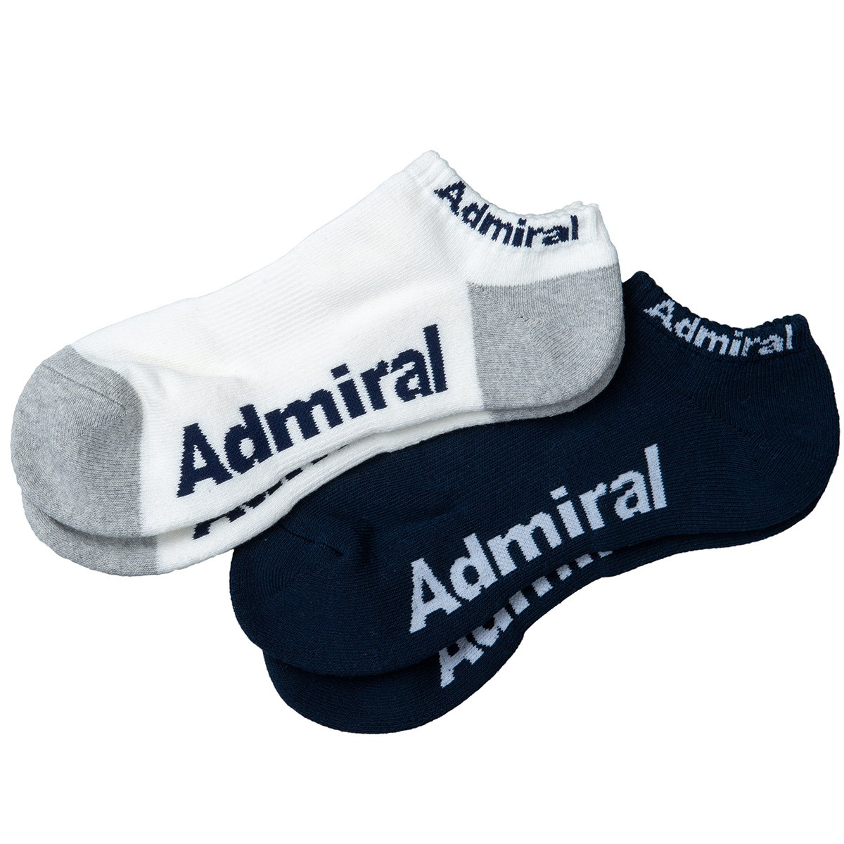 アドミラル Admiral ソックス 2足セット フリー マルチ 91
