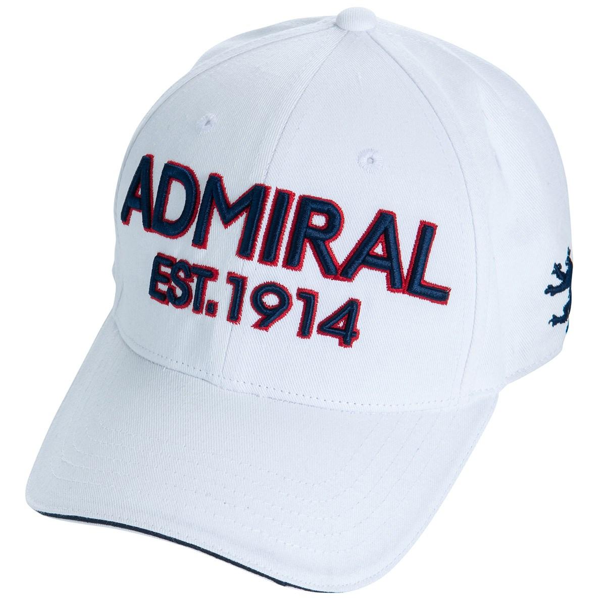 アドミラル Admiral ツイルキャップ フリー ホワイト 00