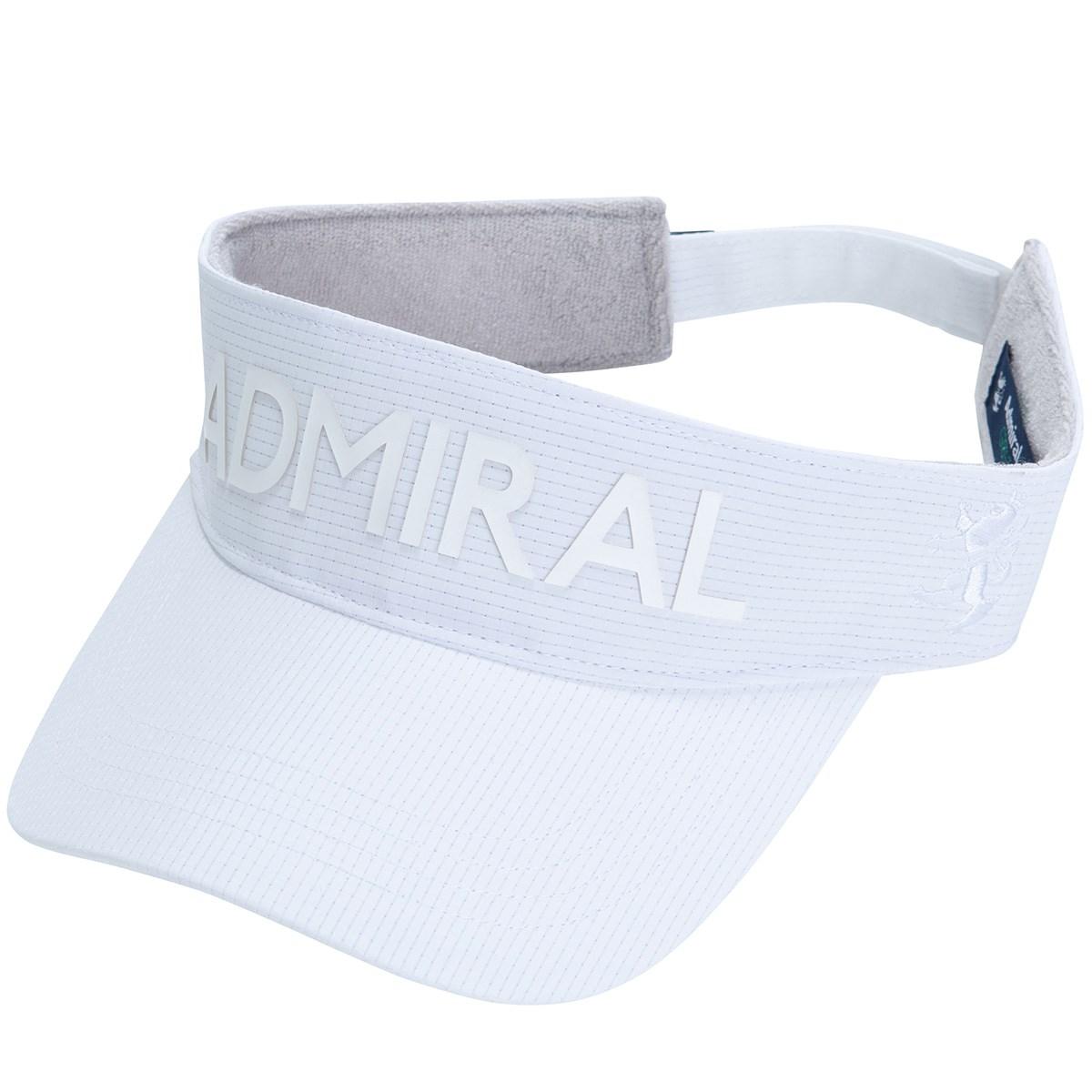 アドミラル Admiral ドットエアサンバイザー フリー ホワイト 00