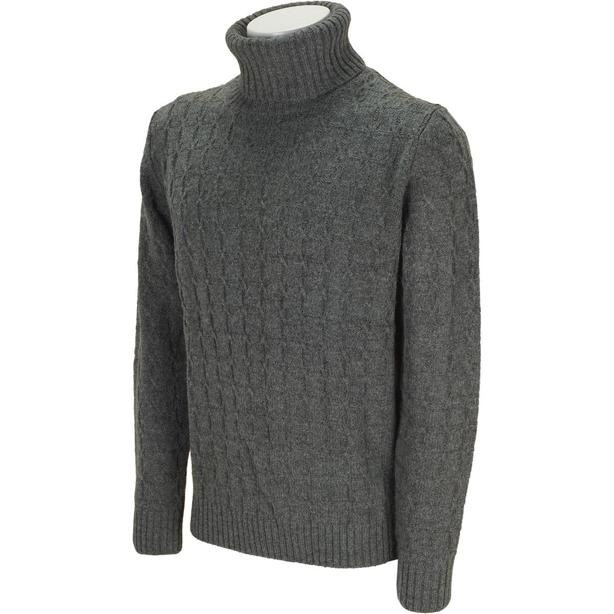 マスターバニーエディション 変形ケーブル タートルネックセーター