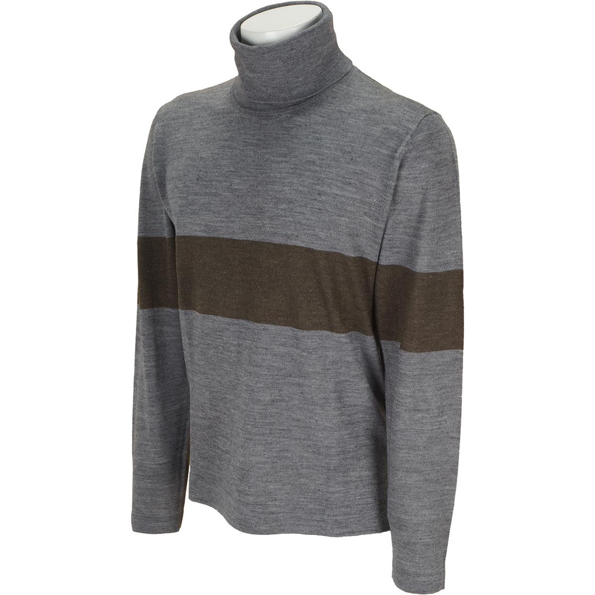 ハイゲージ タートルネックセーター