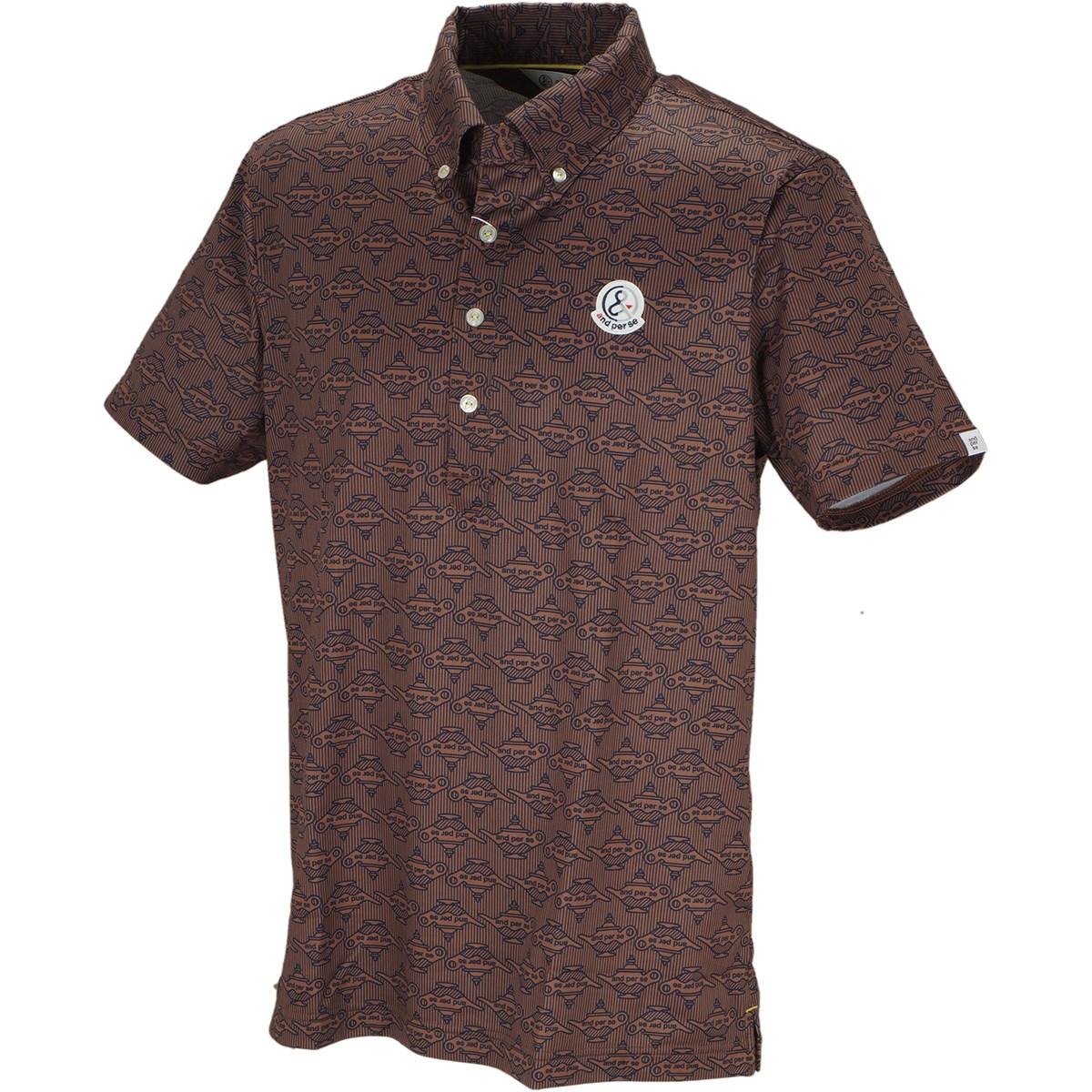 アンパスィ 半袖ボタンダウンポロシャツ