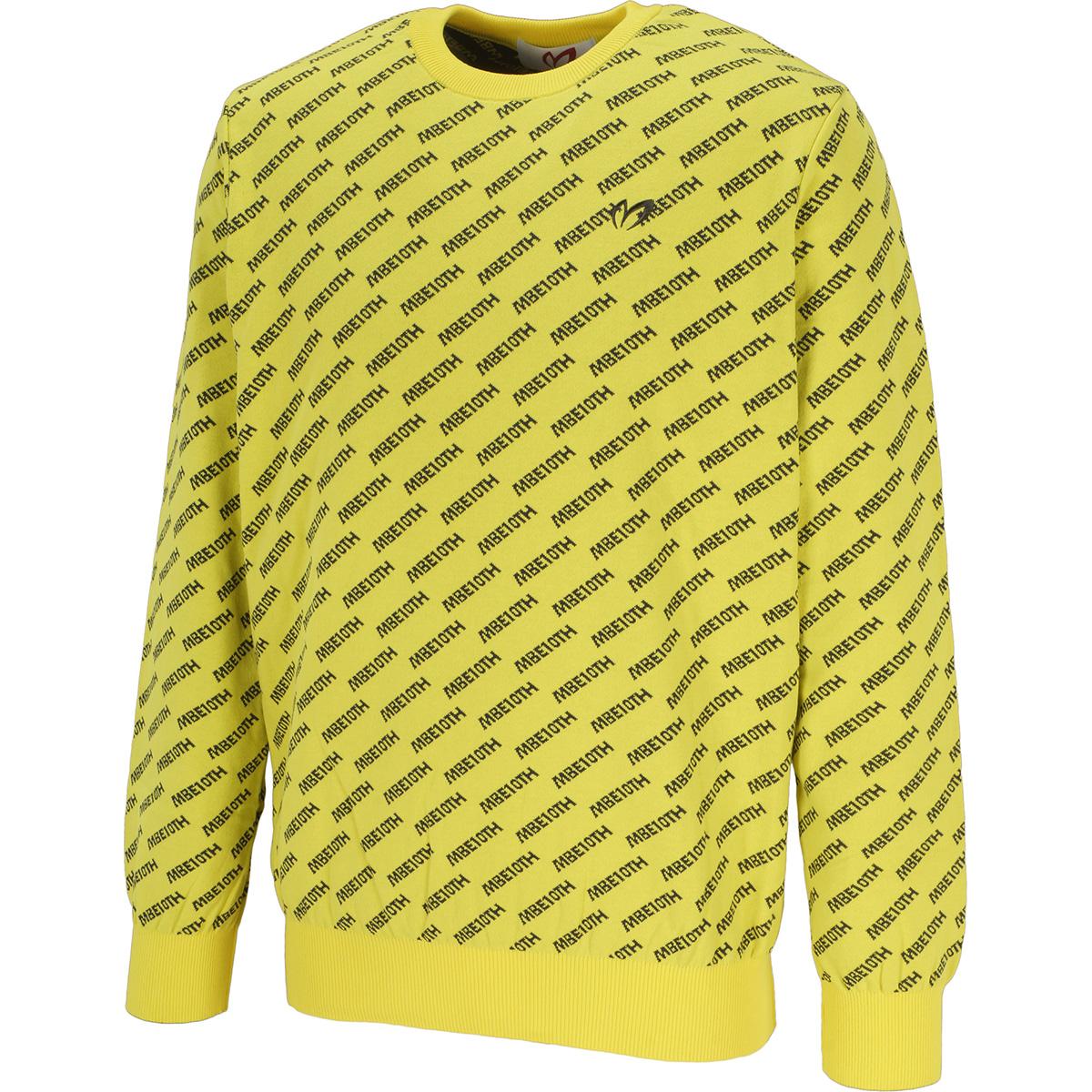 袋ジャカード 10thロゴセーター