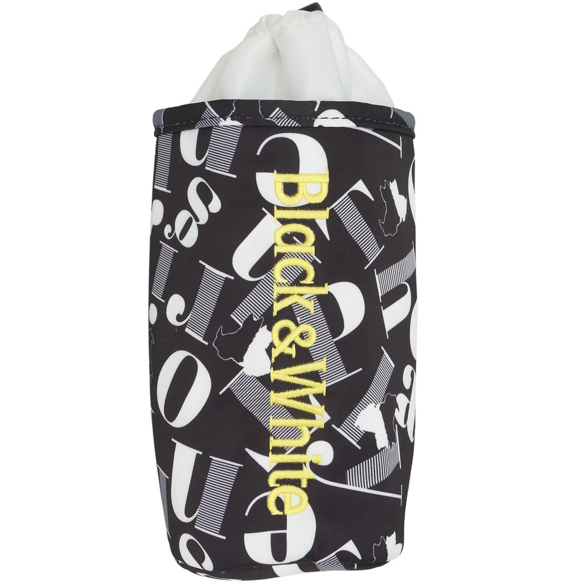 ブラック&ホワイト ボトルポーチ