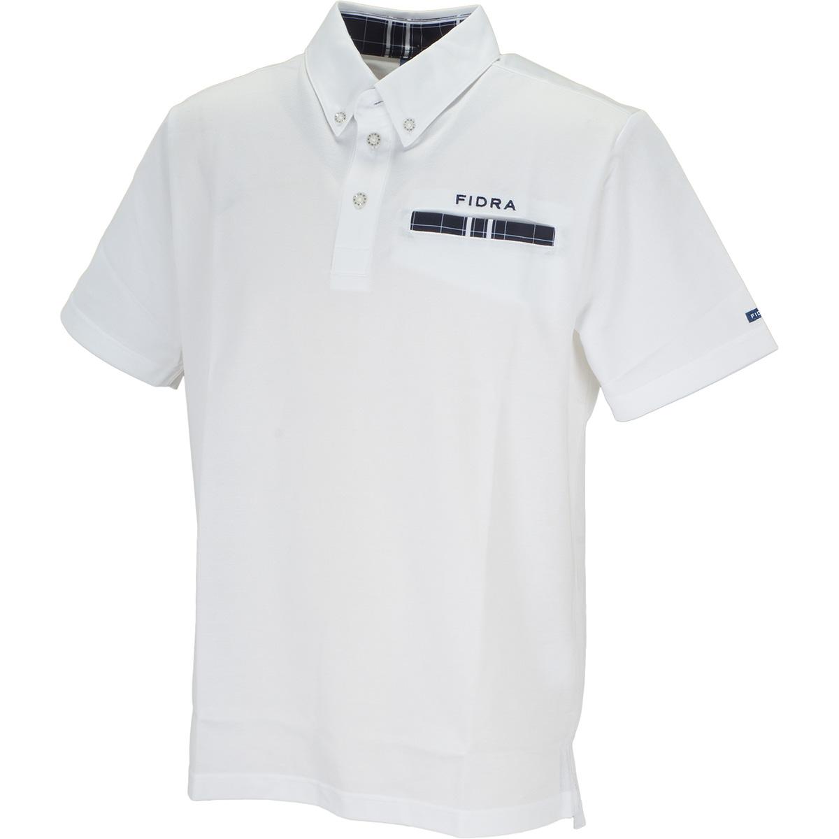 千鳥ポケット 半袖ポロシャツ