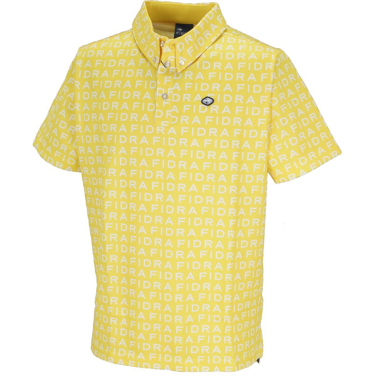ロゴプリント 半袖ポロシャツ